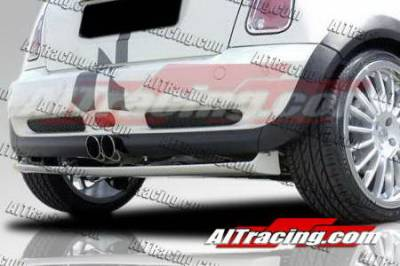 AIT Racing - Mini Cooper AIT Racing H-Tech Style Rear Lip - MINS02HIHMNRS