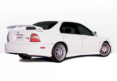 VIS Racing - Honda Accord 4DR VIS Racing W-Type Right Side Skirt - 890149R