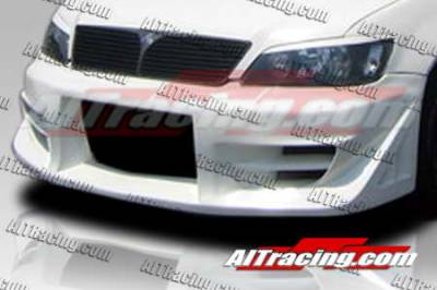 AIT Racing - Mitsubishi Lancer AIT Racing FF2 Style Front Bumper - ML02HIFF2FB