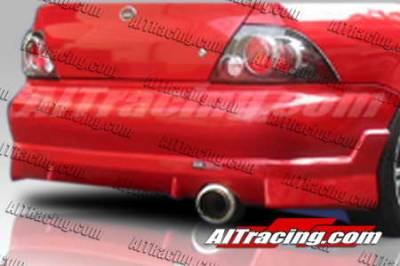 AIT Racing - Mitsubishi Lancer AIT Racing FF2 Style Rear Bumper - ML02HIFF2RB