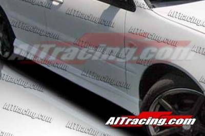 AIT Racing - Mitsubishi Lancer AIT Racing FF2 Style Side Skirts - ML02HIFF2SS