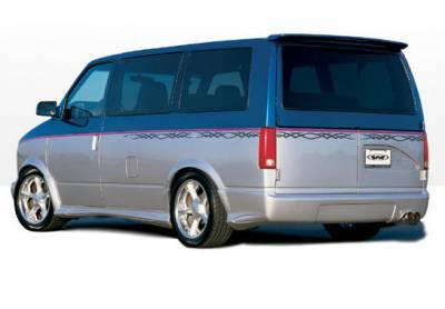 VIS Racing - Chevrolet Astro VIS Racing W-Type Left Side Skirt - 890213L