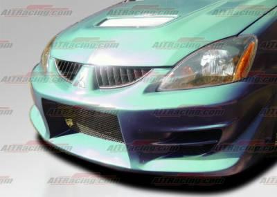 AIT Racing - Mitsubishi Lancer AIT Racing FF2 Style Front Bumper - ML04HIFF2FB