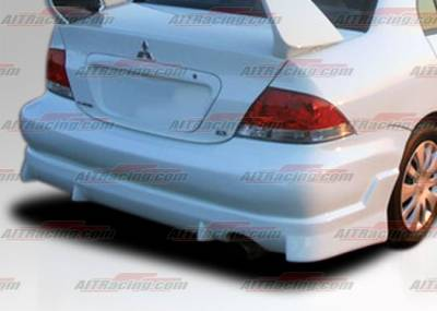 AIT Racing - Mitsubishi Lancer AIT Racing FF2 Style Rear Bumper - ML04HIFF2RB
