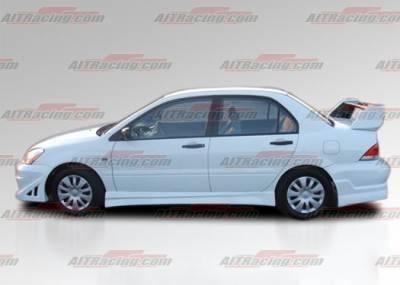 AIT Racing - Mitsubishi Lancer AIT Racing FF2 Style Side Skirts - ML04HIFF2SS