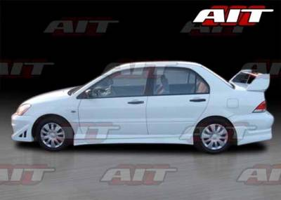 AIT Racing - Mitsubishi Lancer AIT FF3 Style Side Skirts - ML04HIFF3SS