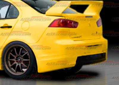 AIT Racing - Mitsubishi Lancer AIT Racing GTS Style Rear Bumper - ML07HIGTSRB