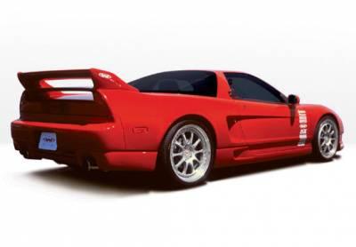 VIS Racing - Acura NSX VIS Racing W-Type Right Side Skirt - 890326R