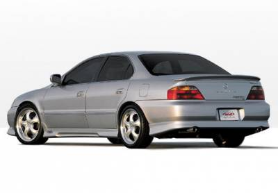 Wings West - Acura TL Wings West W-Type Side Skirts - Left & Right - 890341L&R