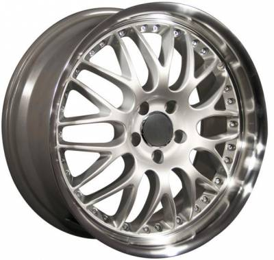 Custom - 19 Inch BBS Dish Silver - Audi 4 Wheel Package
