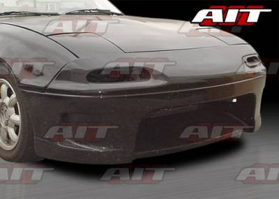 AIT Racing - Mazda Miata AIT Racing Wize Style Front Bumper - MM91HIWIZFB