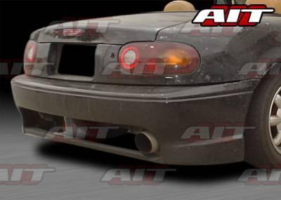 AIT Racing - Mazda Miata AIT Racing Wize Style Rear Bumper - MM91HIWIZRB
