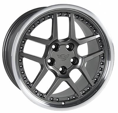 Custom - Z06 Style Wheel Argent - GM 18 Inch 4 Wheel Package