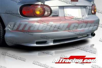 AIT Racing - Mazda Miata AIT Racing Wize Style Rear Skirt Add-On - MM98HIWIZRS