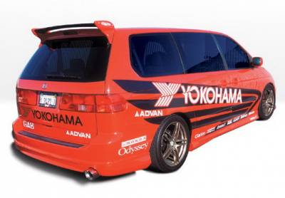 Wings West - Honda Odyssey Wings West W-Type Side Skirts - Left & Right - 890497L&R