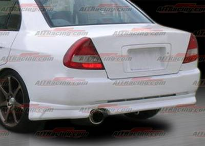 AIT Racing - Mitsubishi Mirage AIT Racing EVO V Style Rear Bumper - MMG97HIEVORB