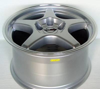 Custom - ZR Style Wheel Silver - GM 17 Inch 4 Wheel Package
