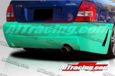 AIT Racing - Mazda Protege AIT Racing Zen Style Rear Bumper - MP01HIZENRB4