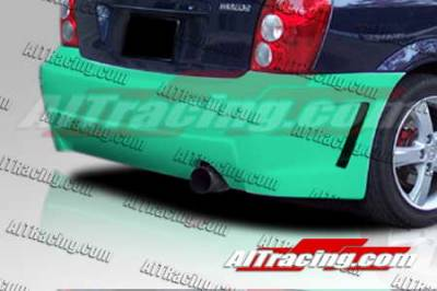 AIT Racing - Mazda Protege AIT Racing Zen Style Rear Bumper - MP01HIZENRB5