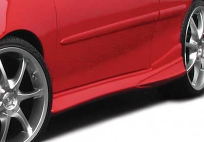 VIS Racing - Chevrolet Cavalier 2DR VIS Racing Tuner 2 Left Side Skirt - 890585L