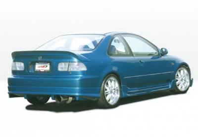 Wings West - Honda Civic 2DR Wings West G5 Series Side Skirts - Left & Right - 890606L&R