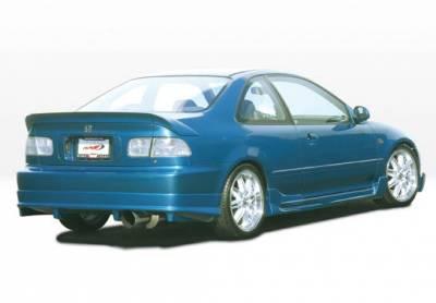 VIS Racing - Honda Civic 2DR VIS Racing G5 Series Right Side Skirt - 890606R