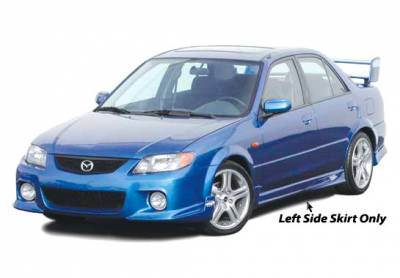 Wings West - Mazda Protege Wings West MPS Side Skirts - Left & Right - 890662L&R