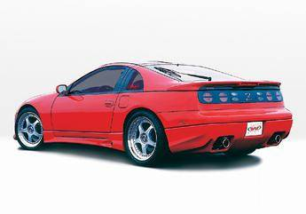 VIS Racing - Nissan 300Z VIS Racing W-Type Left Side Skirt - 890683L