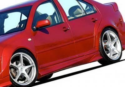 Wings West - Volkswagen Jetta Wings West J-Spec Side Skirts - Left & Right - 890762L&R