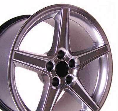 Custom - Saleen Style Wheel Silver - Mustang 18 Inch 4 Wheel Package