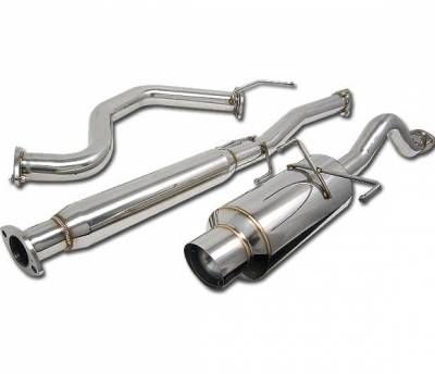 4 Car Option - Acura Integra 4 Car Option Cat-Back Exhaust System with Stainless Steel Tip - MUX-AI94GSR