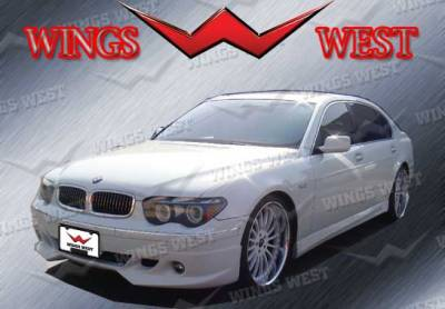 VIS Racing - BMW 7 Series VIS Racing VIP Left Side Skirt Only Fits L Edition - 890942L
