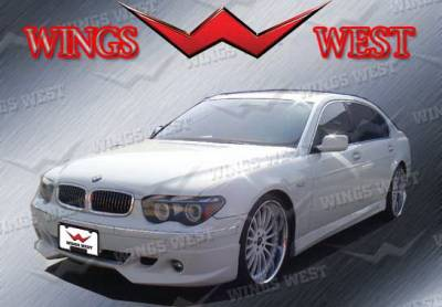 Wings West - BMW 7 Series Wings West VIP Side Skirts - Left & Right - 890942L&R