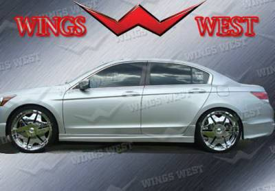 Wings West - Honda Accord 4DR Wings West VIP Side Skirts - Left & Right - 890957L&R