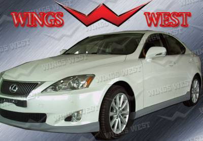 VIS Racing - Lexus IS VIS Racing WW Vip Left Side Skirt - 891001L