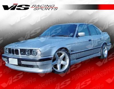 VIS Racing - BMW 5 Series VIS Racing A Tech Side Skirts - 89BME344DATH-004