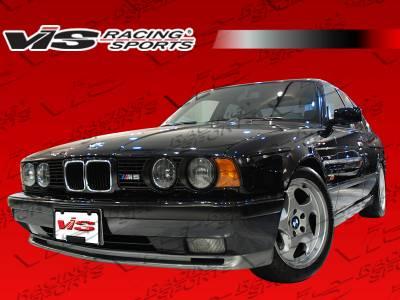 VIS Racing - BMW 5 Series VIS Racing M5 Side Skirts - 89BME344DM5-004