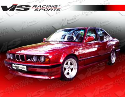 VIS Racing - BMW 5 Series VIS Racing M Tech Side Skirts - 89BME344DMTH-004