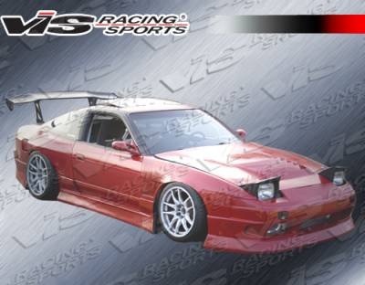 VIS Racing - Nissan 240SX VIS Racing B Speed Side Skirts - 89NS2402DBSP-004