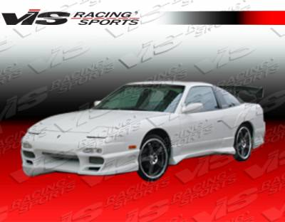 VIS Racing - Nissan 240SX VIS Racing Demon Side Skirts - 89NS2402DDEM-004