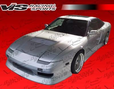 VIS Racing. - Nissan 240SX VIS Racing G Speed Widebody Side Skirts - 89NS2402DGSPWB-004