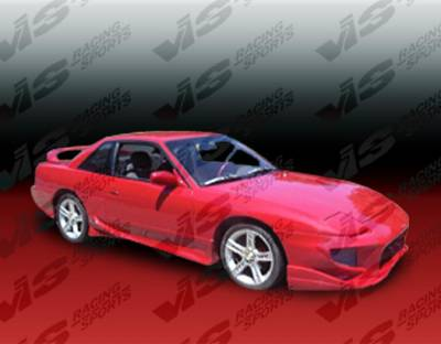 VIS Racing. - Nissan 240SX VIS Racing Invader-2 Side Skirts - 89NS2402DINV2-004