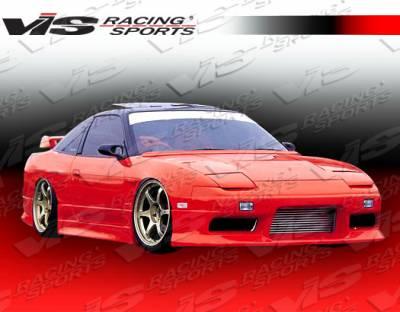 VIS Racing - Nissan 240SX VIS Racing M Speed-2 Side Skirts - 89NS2402DMSP2-004