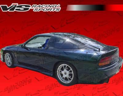 VIS Racing - Nissan 240SX VIS Racing R Speed Side Skirts - 89NS2402DRSP-004