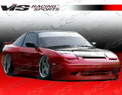 VIS Racing - Nissan 240SX VIS Racing Super Side Skirts - 89NS2402DSUP-004