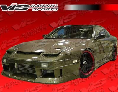 VIS Racing - Nissan 240SX VIS Racing Venus Side Skirts - 89NS2402DVEN-004