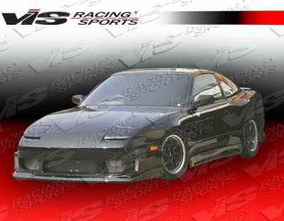 VIS Racing - Nissan 240SX VIS Racing Z Speed Side Skirts - 89NS2402DZSP-004