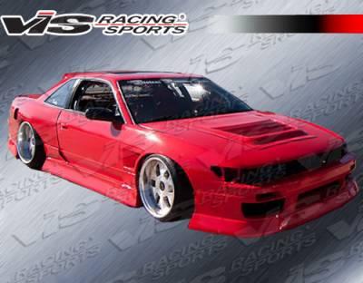 VIS Racing - Nissan S13 VIS Racing B Speed Side Skirts - 89NSS132DBSP-004