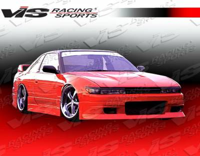 VIS Racing - Nissan S13 VIS Racing M Speed Side Skirts - 89NSS132DMSP-004