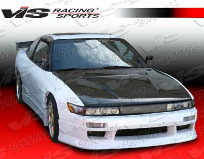 VIS Racing - Nissan S13 VIS Racing V Speed Side Skirts - 89NSS132DVSP-004